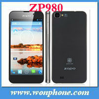 5.0 Inch First FHD Screen Smart Phone 440PPI 1GB/16GB13MP Camera Android 4.2 MTK6589 Quad Core Phone ZOPO ZP980