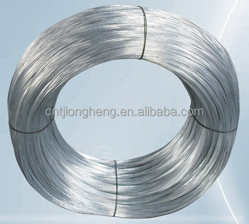 BS5896 galvanised steel wire electro wire