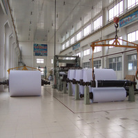 New condition and printing paper making machine processing used waste paper