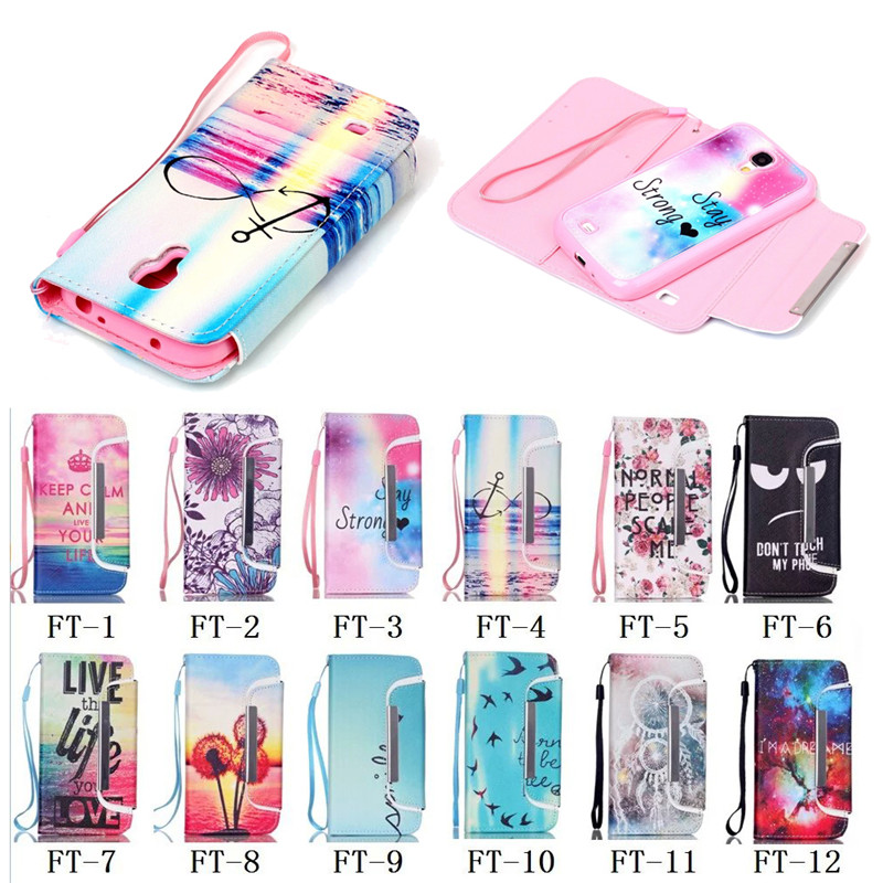 Series!!! New Arrival Colorful Printing Wallet Flip Case Cover for Samsung Galaxy S3, For Samsung Galaxy S4 Case