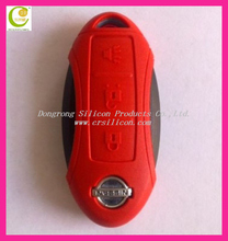 hot selling silicone rubber for fiat 500 key cover with high quality,new fashion silicone rubber car key cover