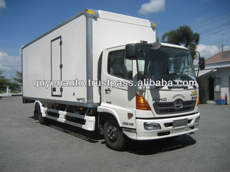 Refrigeration truck body