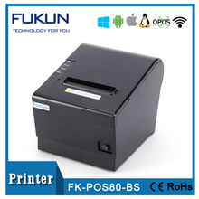 Fashionable apperance design thermal printer rp80 FK-POS80BS with full information of user guide
