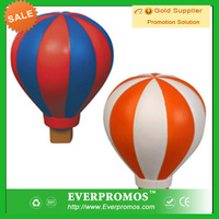 Hot Air Balloon stress Ball with Logo for promotion and anti stress