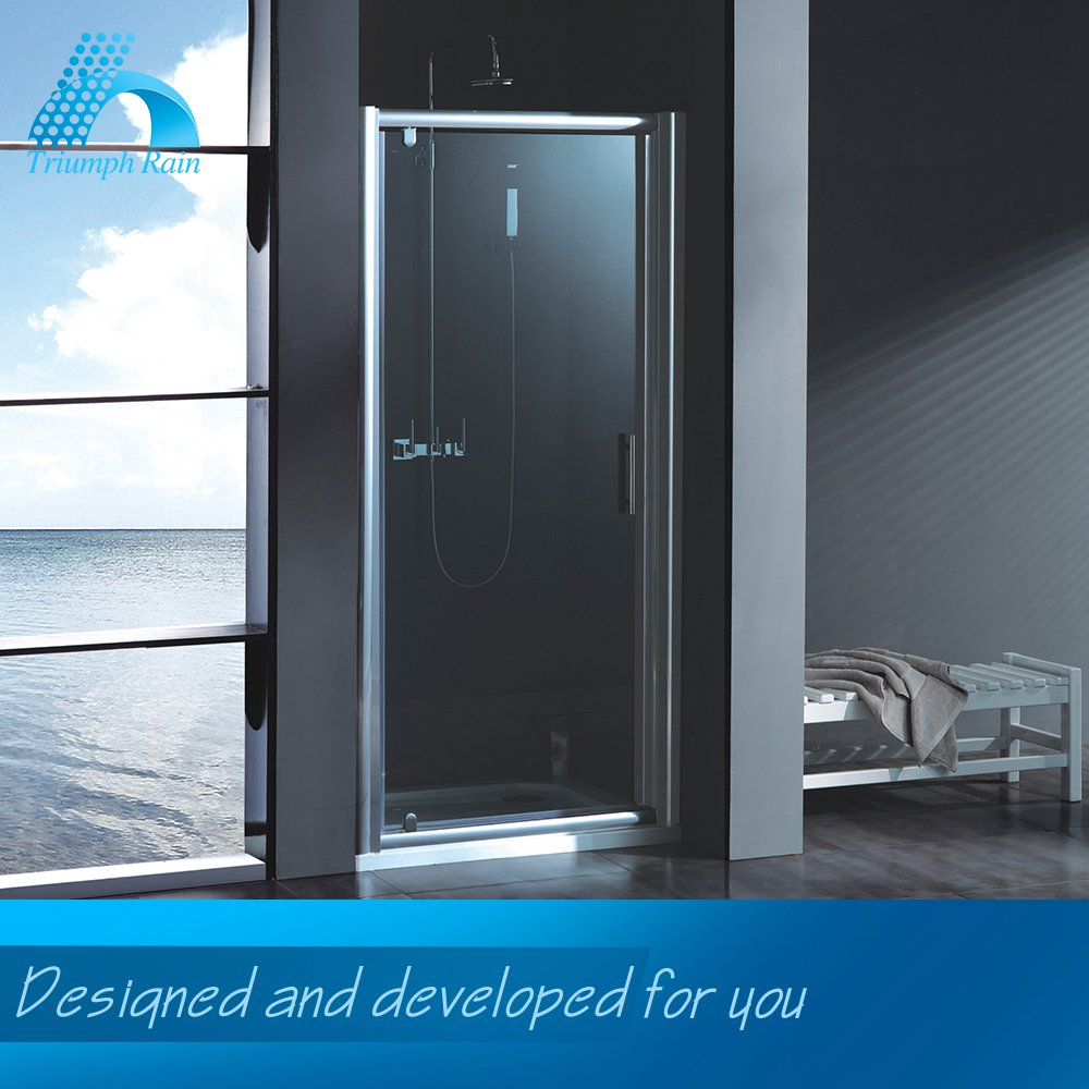 Quality Assured Super Price Comfortable Design Bubble Glass Shower Door Aluminum Bathroom Accessories