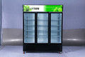 3door american style cooler /auto-defrost fridge/glass door Refrigerator