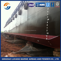 Heavy duty launching and pull rubber bag/factory supply marine airbag for ship launching