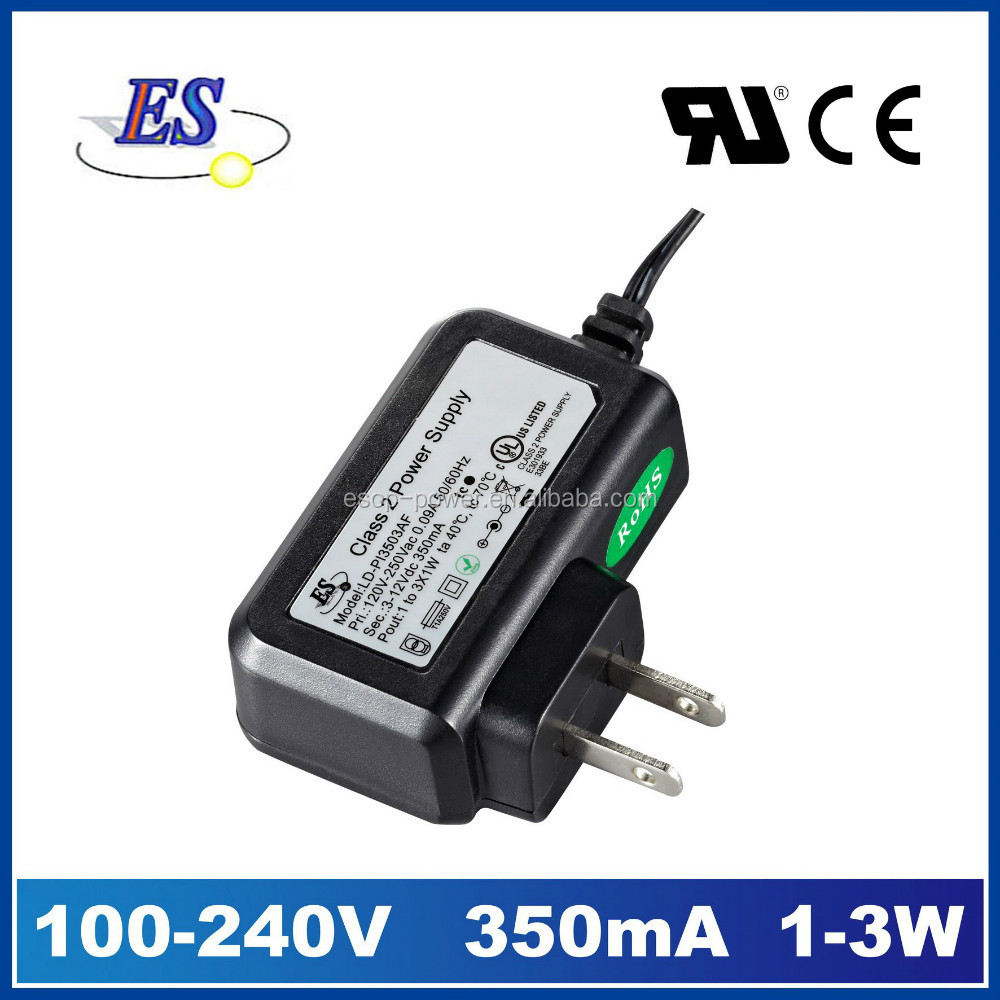 3-9W AC-DC Constant Current LED Driver