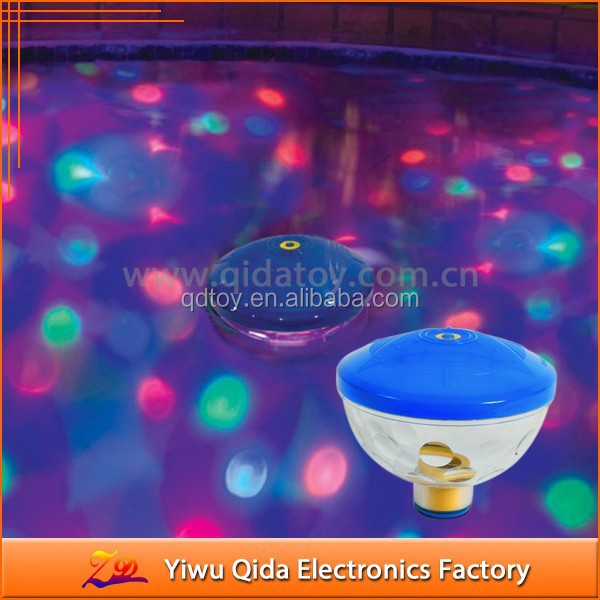 waterproof floating led pool pond fountain light