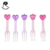 8cm Plastic pudding Fork And Spoon Heart and crown Shape