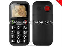 big keyboard elderly mobile phone support sos / bluetooth / one key call function