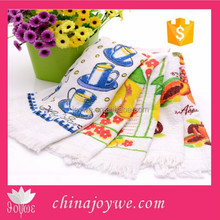 Promotional Tea Towel With Tassel Cheap Kitchen Towel wholesale From China Supplier