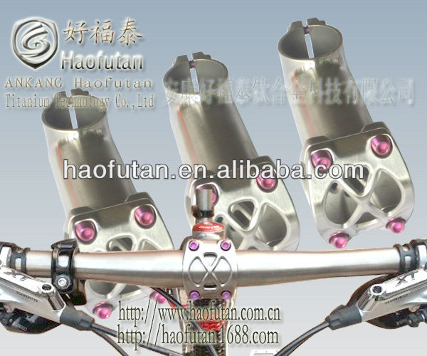 The latest popular products-titanium alloy MTB stems