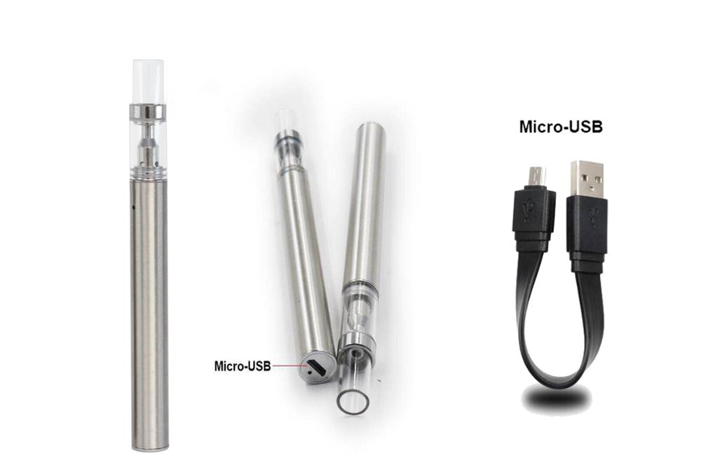 1ml Ceramic Coil Atomizer 280mAh Battery Disposable Vape Pen