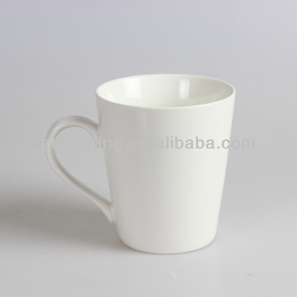 Popular promotion gift cheap paintable plain ceramic coffee mugs