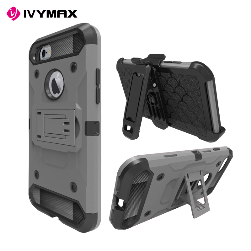 Wholesale Cell Phone Case For iphone 6/ 7 Case Mobile Phone Cover For iphone 6/ 7 Holster Combo Case