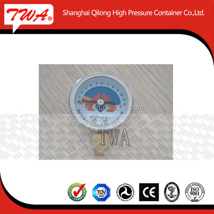 High pressure gas regulator for Dissolved acetylene gas Nitrogen Ammonia and so on