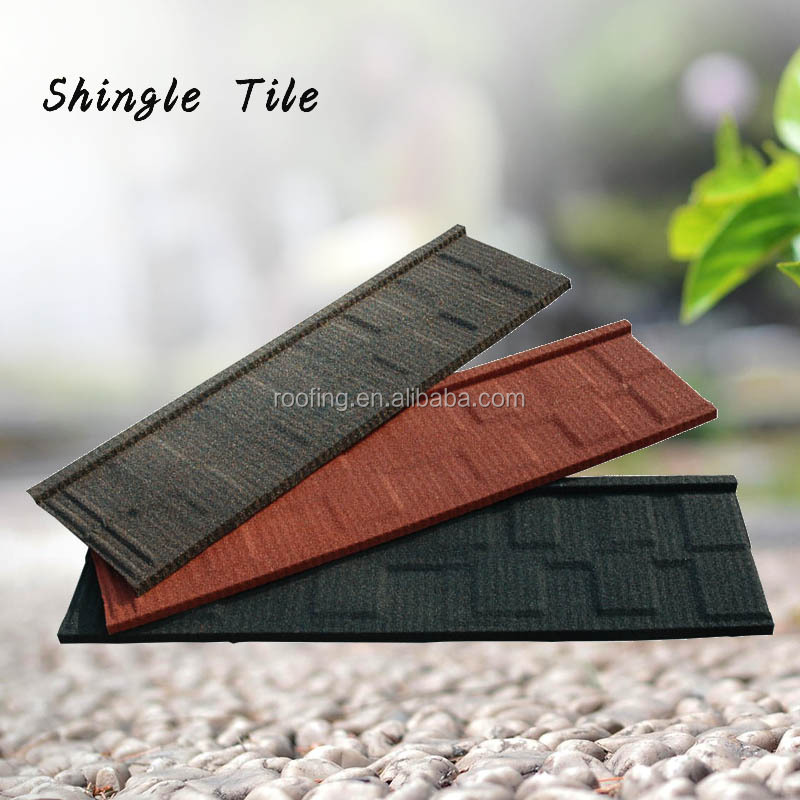 SGS certificate standing seam metal roofing stone tile designs in nigeria