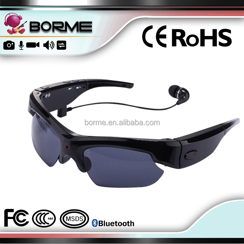 1080P HD 120 Wide Sunglasses With Camera New Fashion Design sunglasses camera with Remote Control