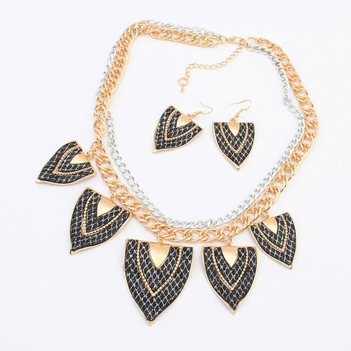 fashion necklaces coral african beads jewelry set