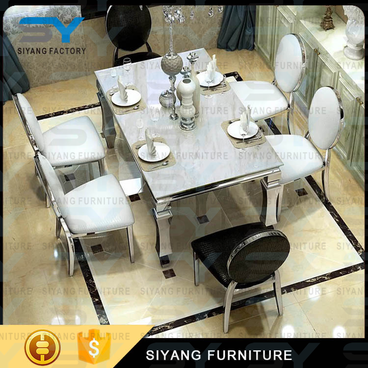 Dining Room Furniture Onyx Dining Room Table Stainless Steel Dining Table  Ct004   Buy Stainless Steel Dining Table,Onyx Dining Room Table,Dining Room  ...