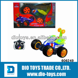 Stunt Car-Turbo 360 Twister RC Car with Music& Lights