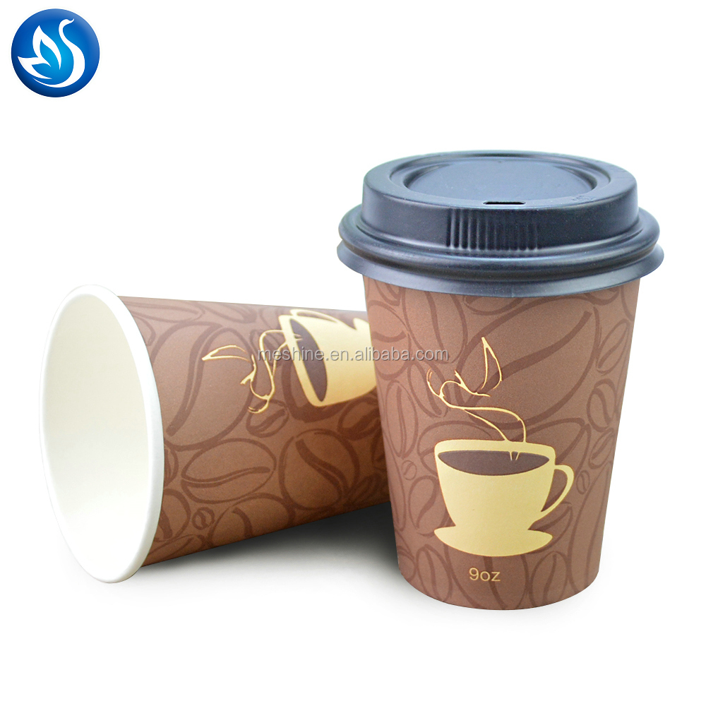 new design top quality paper coffee cup custom printed double wall insulated disposable paper cup