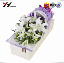 wholesale custom gift paper box round flower box