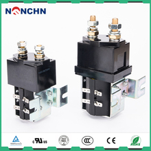 NANFENG Sale Single Pole Dc Contactor 12 24 36 48 72 110 220 Volt Solenoid Coil