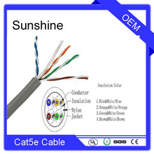 24AWG HDPE CAT5 utp cat 6 cable