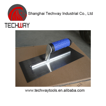 Best-selling Stainless Steel plastic high quality Plastering Trowel