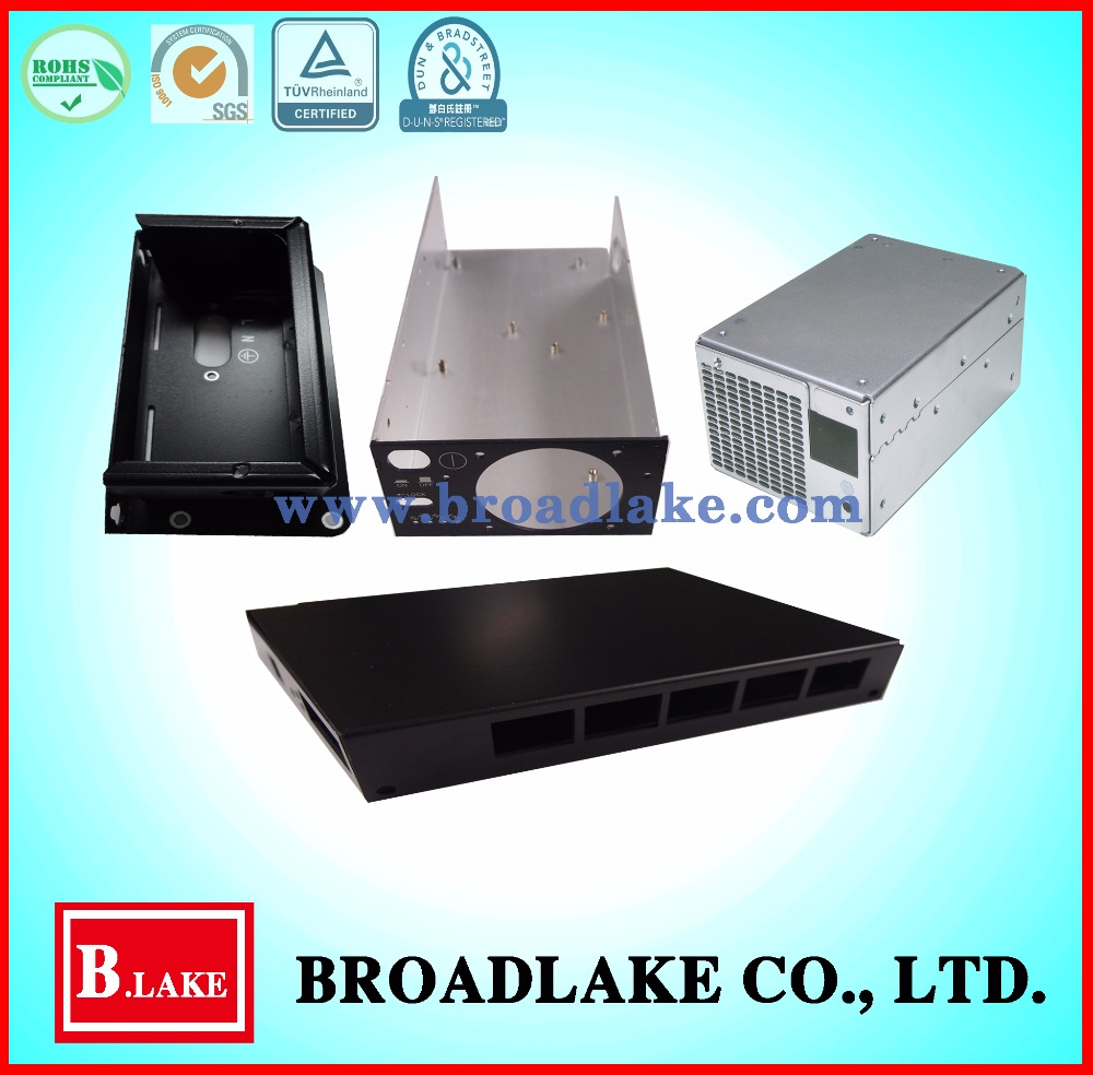 Customized aluminum enclosures for electronic products
