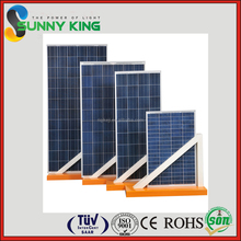 High Efficiency New-Tech All Black 140W 145W 150W 155W 160W Poly-Crystalline 156x156mm Solar Module PV Solar Panel