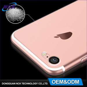 MOQ=100pcs ultra thin 0.6mm full cover transparent clear custom tpu cell phone case for iphone 5 5s 6 6s 7 plus