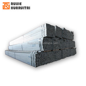 light class galvanized steel pipe g90 galvanised square tube gi rectangular steel hollow section weight