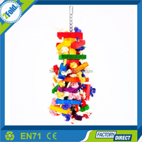 Bird Toys Knots Block Chewing Toy
