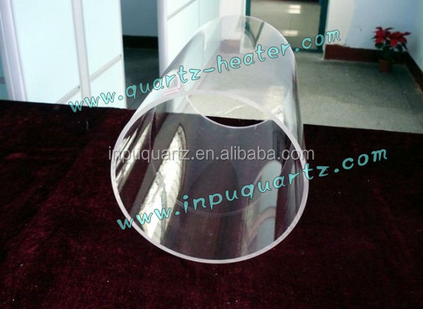 quartz tube with an outer diameter of 80 - 600MM is provided.