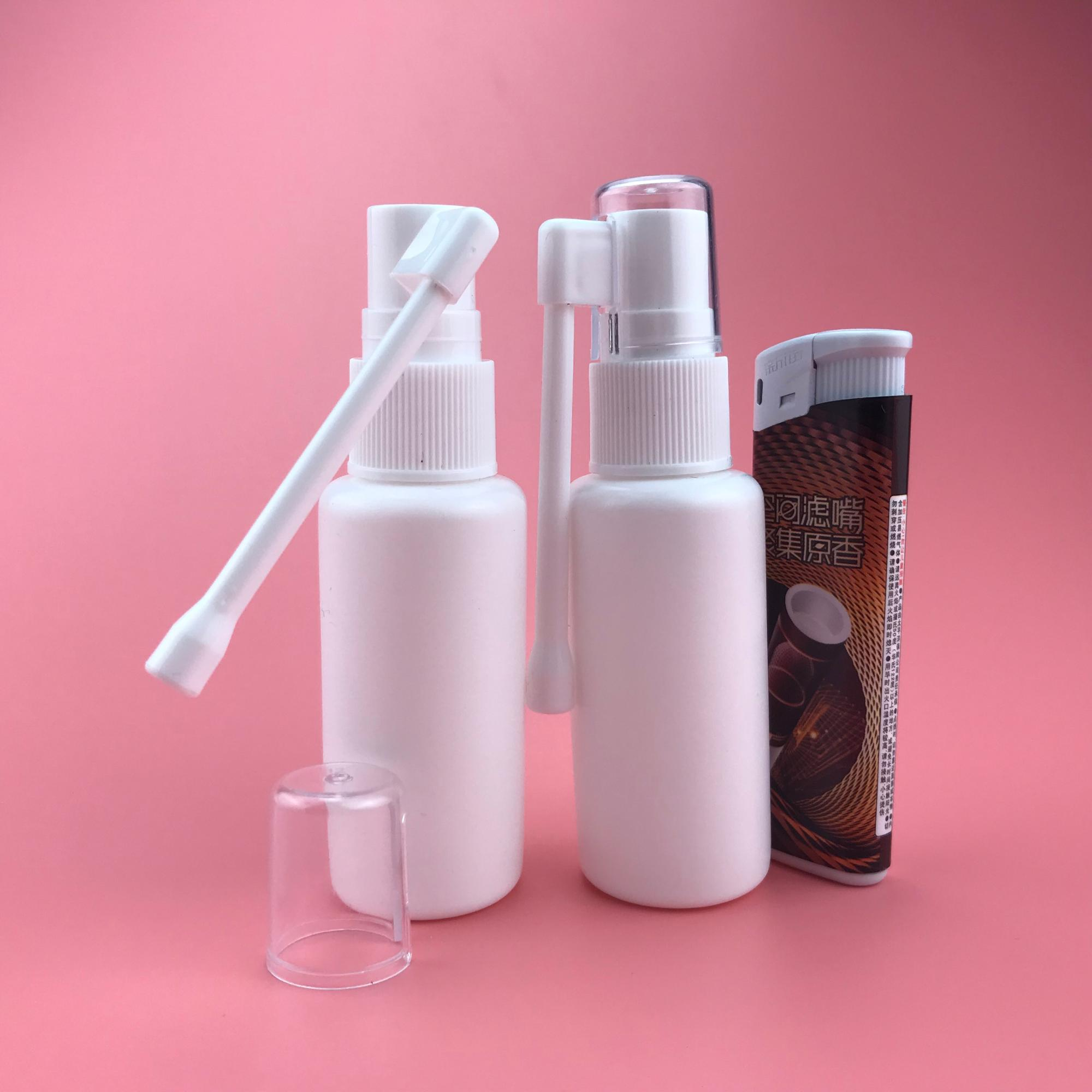 New Style plastic spray bottles bottle 30ml medical gold supplier