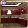 Malaysia Project White And Red RTA Ready To Assemble Kitchen Cabinet
