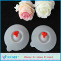 Silicone Cup Cover Silicone Coffee Cup Lid in China