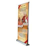 Outdoor Portable Double Sided Roll Up Banner Size