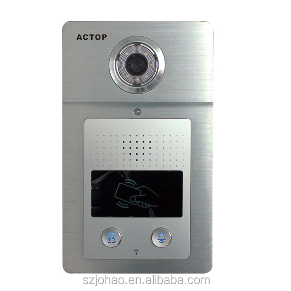 A-980 TCP IP Intercom System Video Door Phone multi apartment video Intercom System for Building