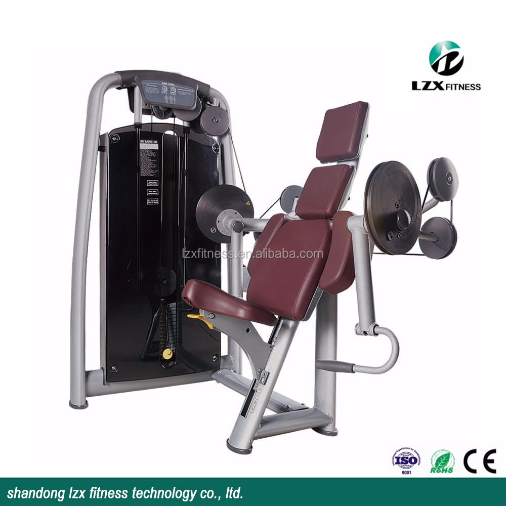 Body Building Equipment Gym Machine LZX-2013 Biceps Curl / Camber Curl Machine