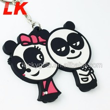 Promotional Gifts Custom Rubber Keychain, PVC Key Chain, Plastic Keychain Wholesale