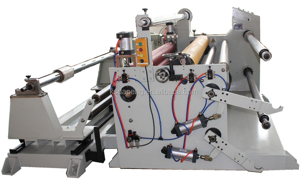 DP1300fq PVC, Pet, PE Film Laminating and Slitting Rewinding Machine