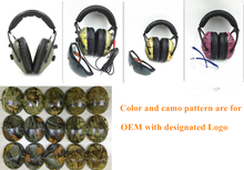 Tactical electronic Tactical military shooting range earmuff