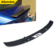 AGenuine UV polished full 3K carbon fiber rear trunk spoiler boot lip spoiler wing for Audi A5 S5 RS5 Sline