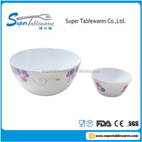 High Quality Melamine Plastic Salad Bowl