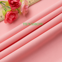 320g polyester knitted fabric clothing /punto roma