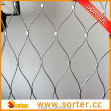 high quality wall drapery mesh for building material